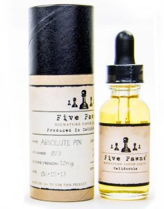 Absolute Pin by Five Pawns Signature Vapor Liquid