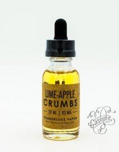 Lime Apple Crumbs by Wanderlust Vapor